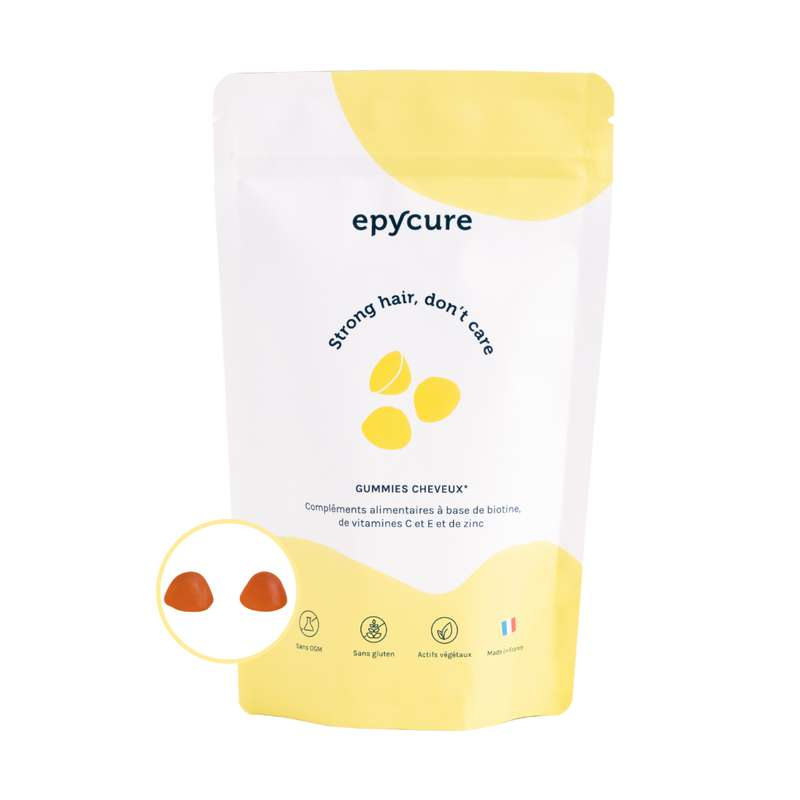 Gummies cheveux, Epycure (x 60)