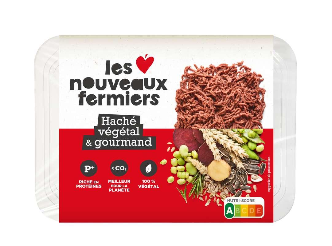 Haché végétal & gourmand, Les Nouveaux Fermiers (200 g)