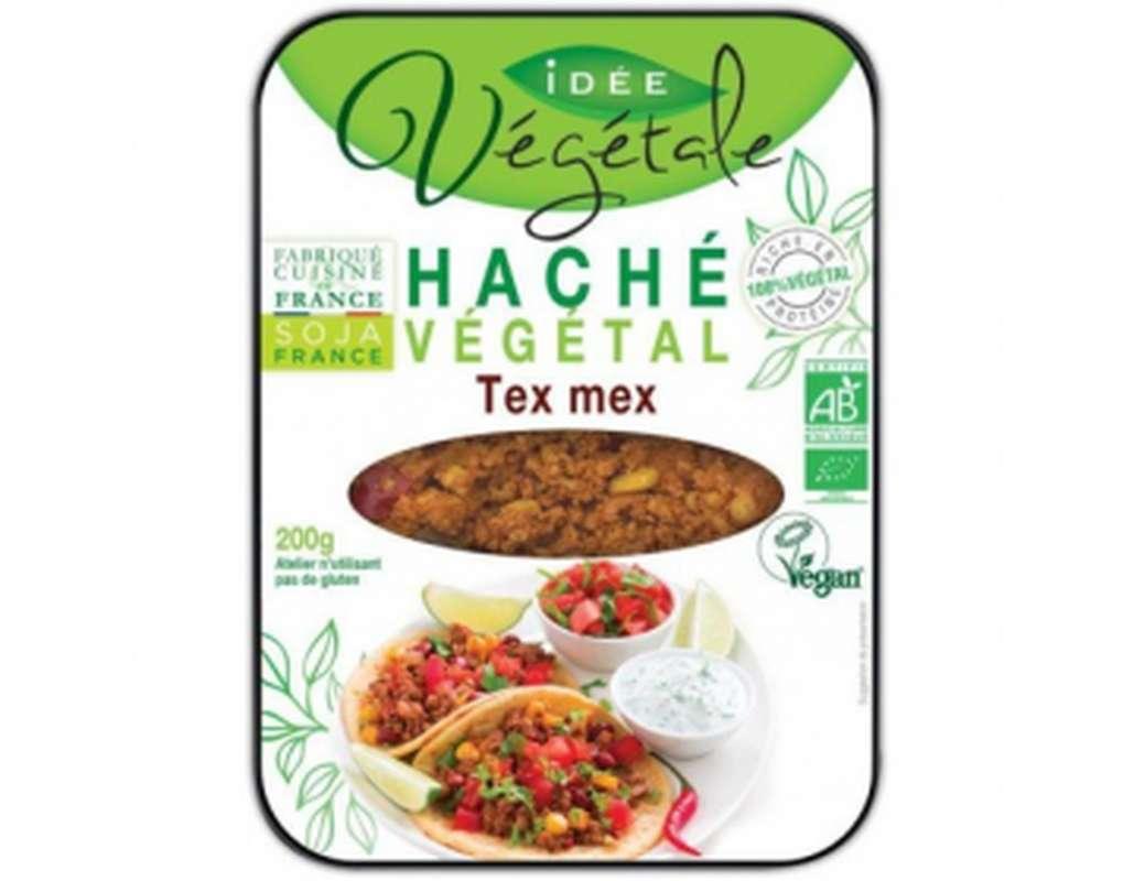 Haché végétal Tex-Mex BIO, Idée Végétale (200 g)