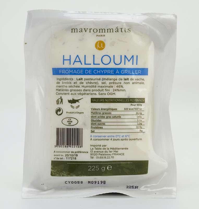 Halloumi aux 3 laits, Mavrommatis (225 g)