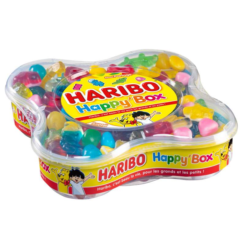 Happy box, Haribo (600 g)