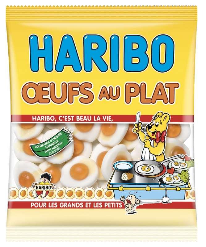 Bonbons Oeufs au plat, Haribo (300 g)