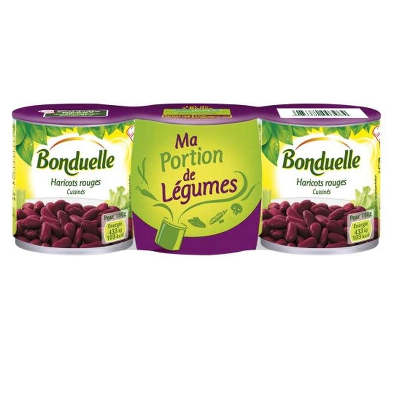 Haricot Rouge, Bonduelle (x 3)