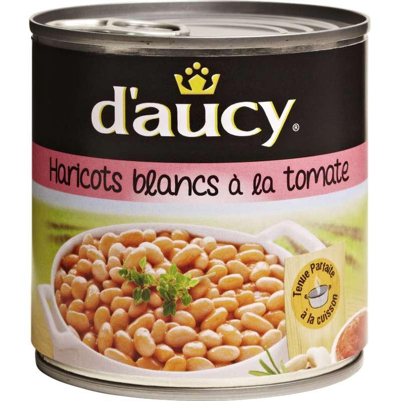 Haricots blancs à la tomate, D'aucy (250 g)