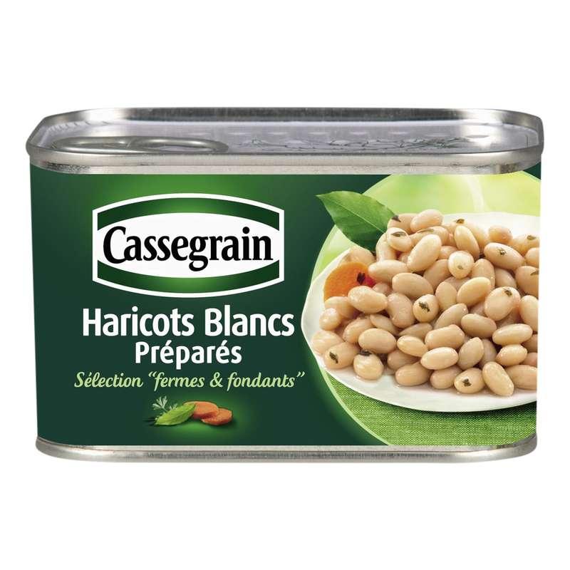 Haricots blancs cuisinés, Cassegrain (250 g)