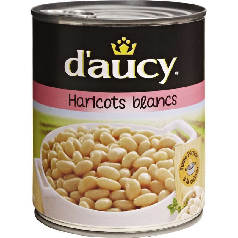 Haricots blancs, D'aucy (500 g)