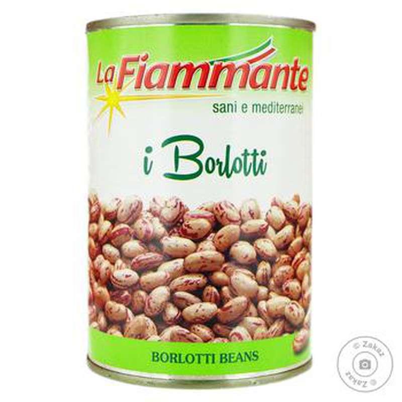 Haricots Borlotti, La Fiammante (400 g)