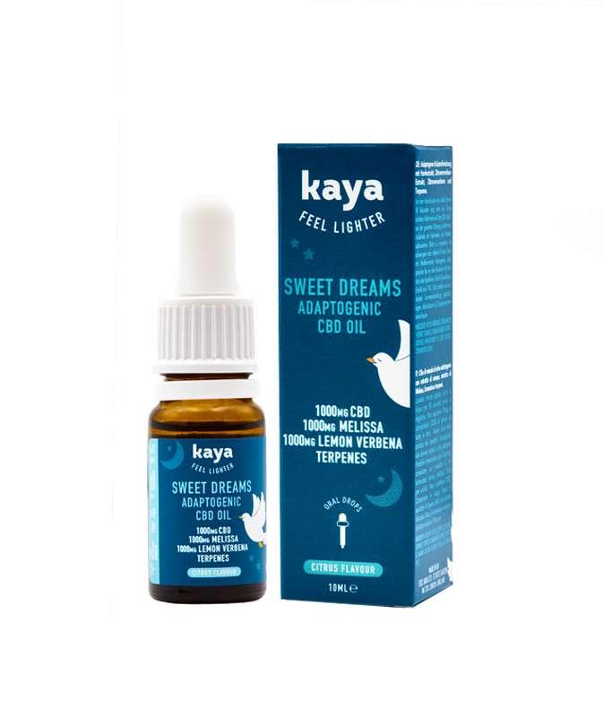 Huile adaptogène Sweet Dreams 10% CBD, Kaya (10ml)