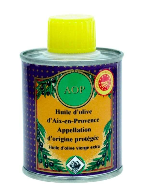 Huile d'olive AOP Aix en Provence, Nicolas Alziari (100 ml)