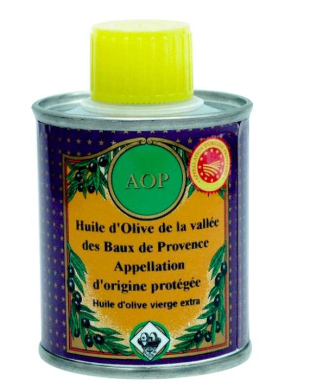 Huile d'olive AOP Baux de Provence, Nicolas Alziari (100 ml)