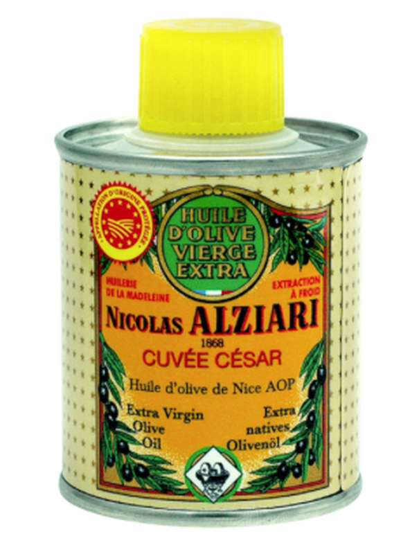 Huile d'olive AOP cuvée César, Nicolas Alziari (100 ml)