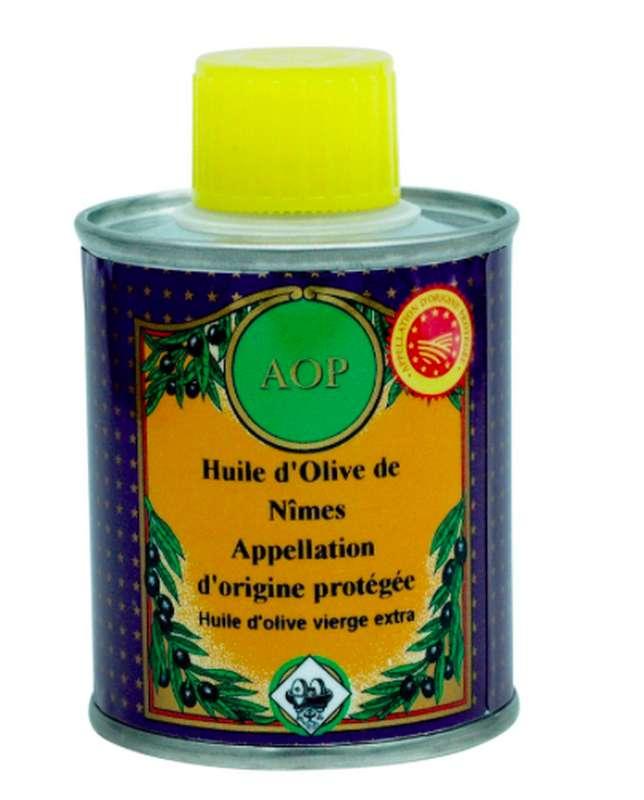 Huile d'olive AOP Nîmes, Nicolas Alziari (100 ml)