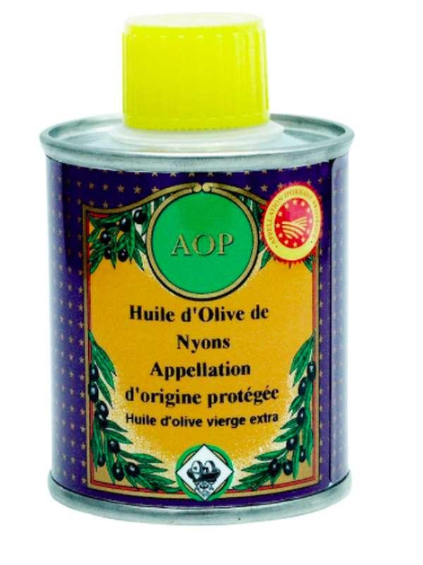 Huile d'olive AOP Nyons, Nicolas Alziari (100 ml)