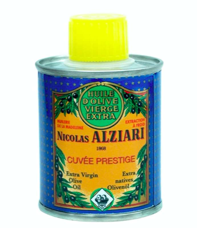 Huile d'olive cuvée prestige, Nicolas Alziari (100 ml)