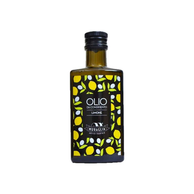 Huile d'olive extra vierge au citron, Muraglia (20 cl)