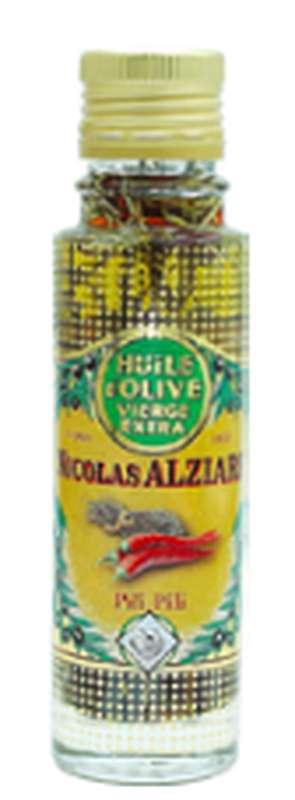 Huile d'olive Pili Pili, Nicolas Alziari (100 ml)