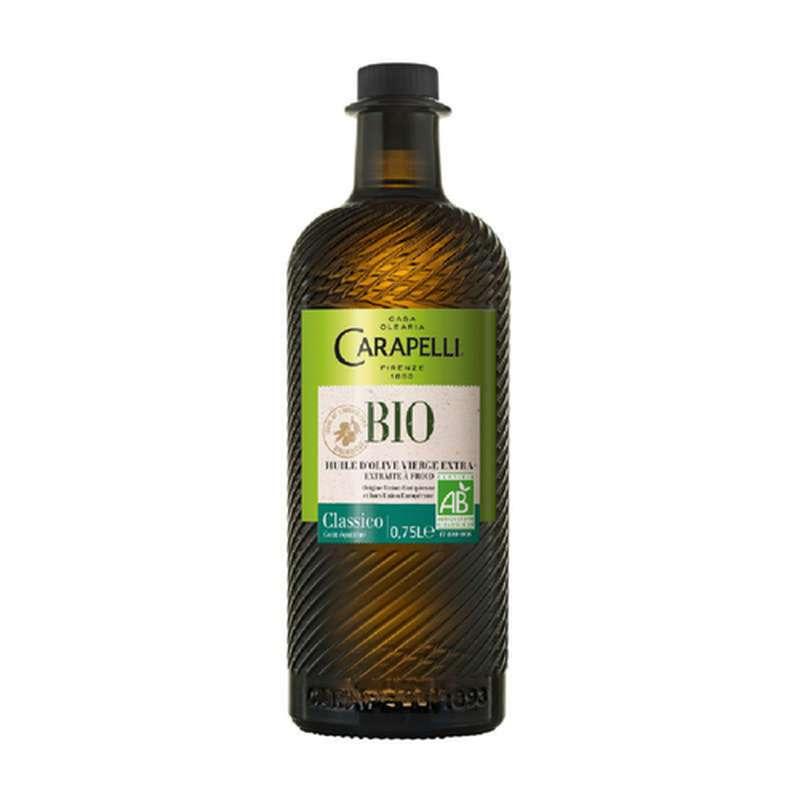 Huile d'olive vierge extra Classico BIO, Carapelli (1 L)