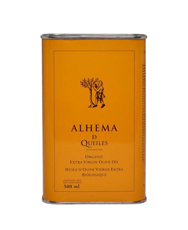 Huile d'olive vierge extra premium BIO, Alhema de Queiles (500 ml)