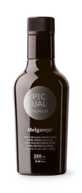 Huile d'olive vierge extra premium, Picual Gourmet, Melgarejo (250 ml)