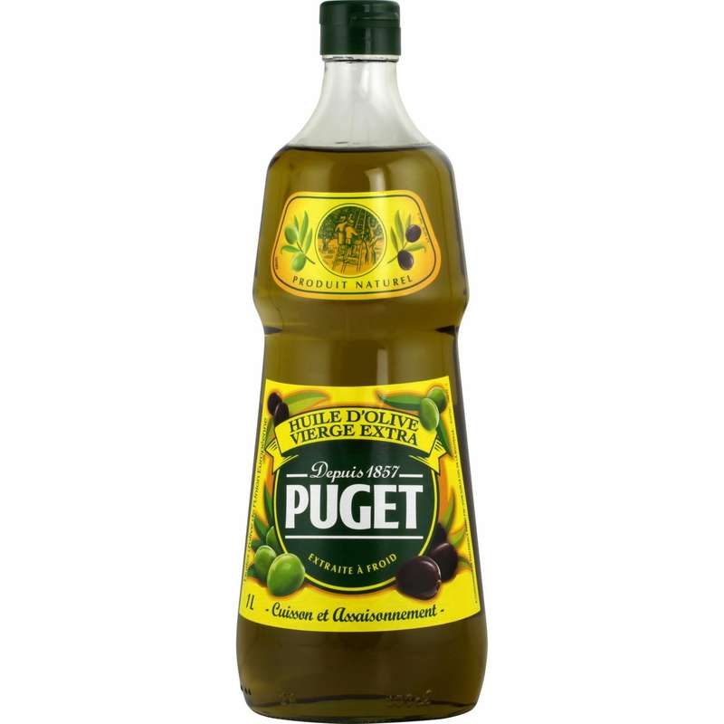 Huile d'olive vierge extra Puget (1 L)