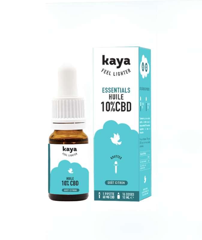 Huile Esssentials 10% CBD, Kaya (10ml)