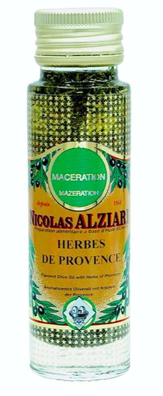 Huile de macération herbes de Provence, Nicolas Alziari (100 ml)