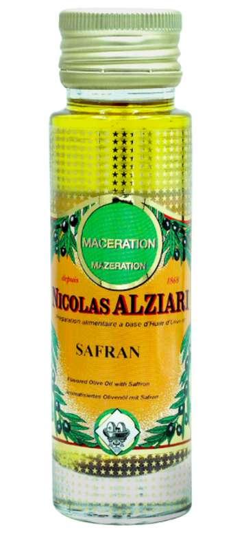 Huile de macération safran, Nicolas Alziari (100 ml)