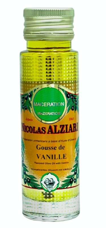 Huile de macération vanille, Nicolas Alziari (100 ml)