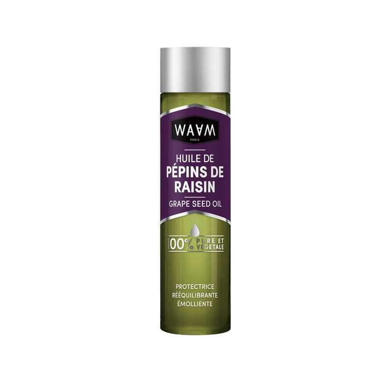 Huile de pépins de raisin, Waam (100 ml)