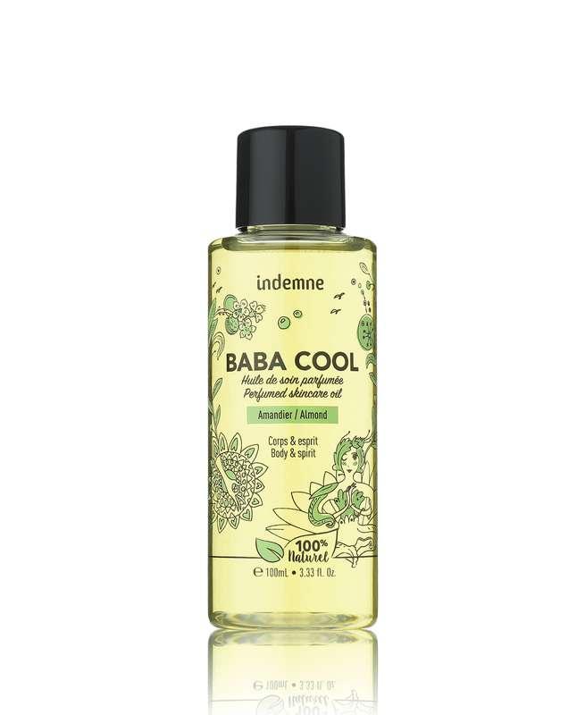 Huile de soin Baba Cool Amandier, Indemne (100 ml)