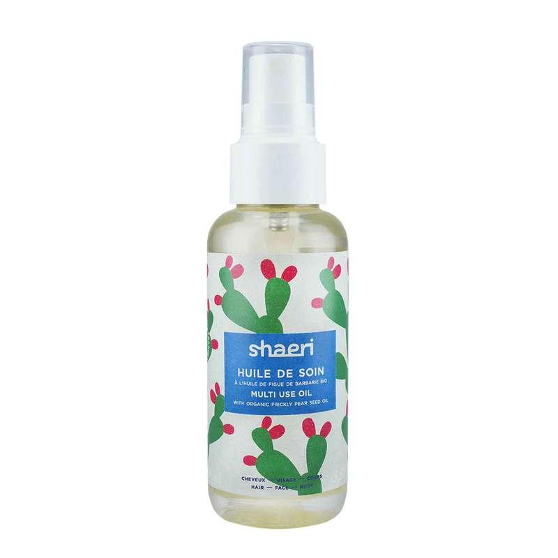 Huile de soin cheveux, visage, corps, Shaeri (100 ml)