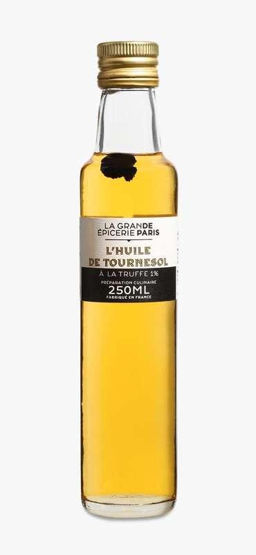 Huile de tournesol à la truffe noire 1%, La Grande Epicerie de Paris (25 cl)
