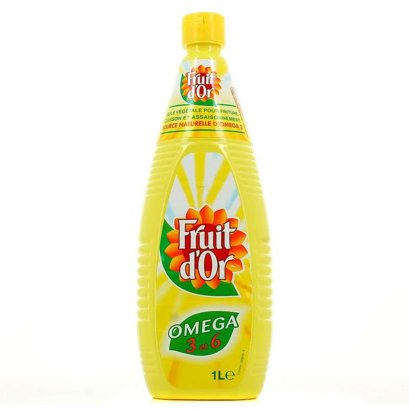 Huile de Tournesol, Fruit d'Or  (1 L)
