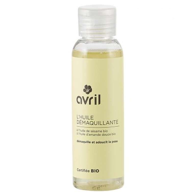 Huile démaquillante à l'huile de sésame certifiée BIO, Avril (100 ml)