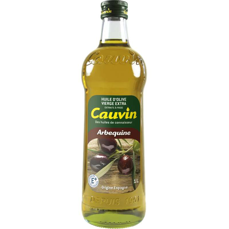 Huile d'olive vierge extra arbequine Cauvin (1 L)