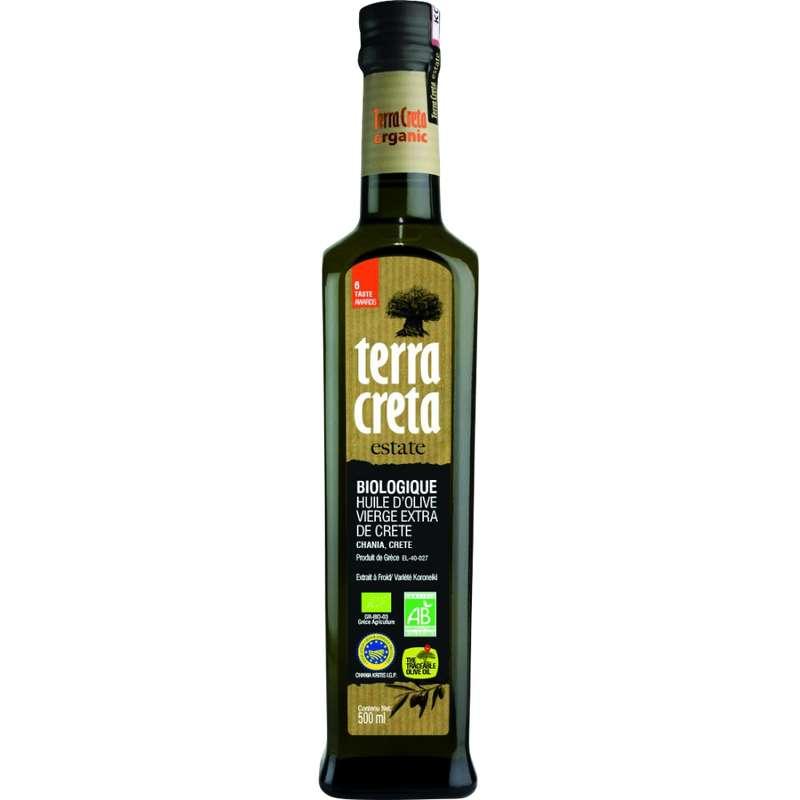 Huile d'olive vierge extra BIO, Terra Creta Estate (50 cl)