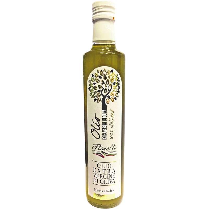 Huile d'olive vierge extra non filtrée, Florelli (50 cl)