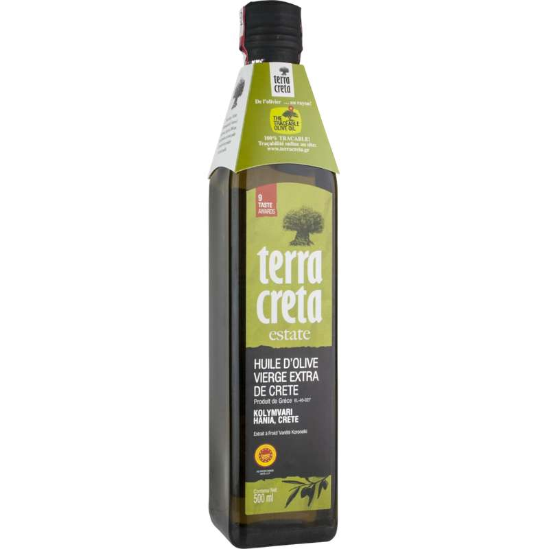 Huile d'olive vierge extra, Terra Creta (500 ml)
