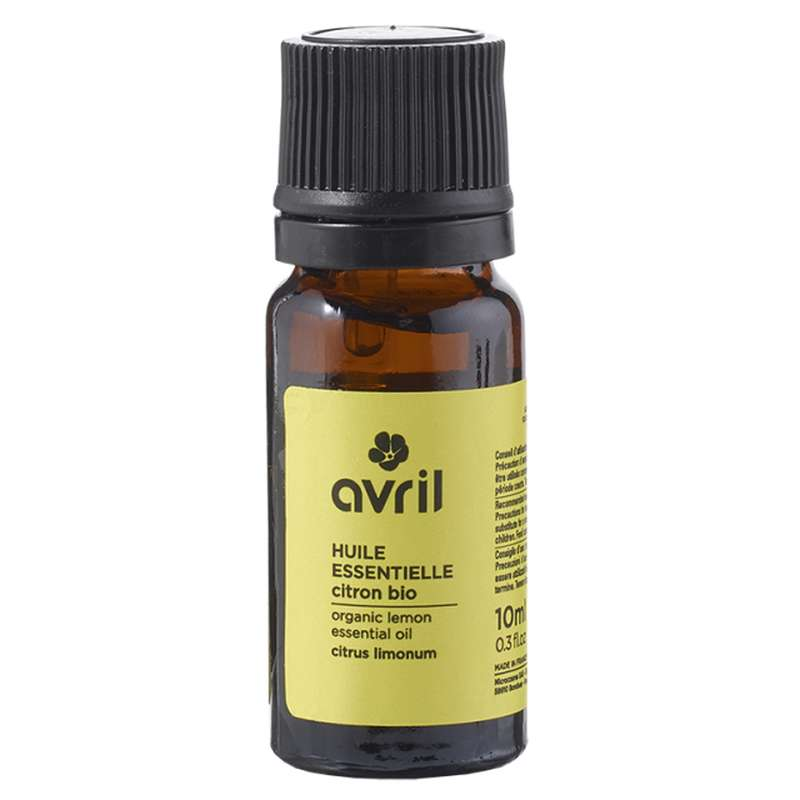 Huile essentielle de citron BIO, Avril (10 ml)