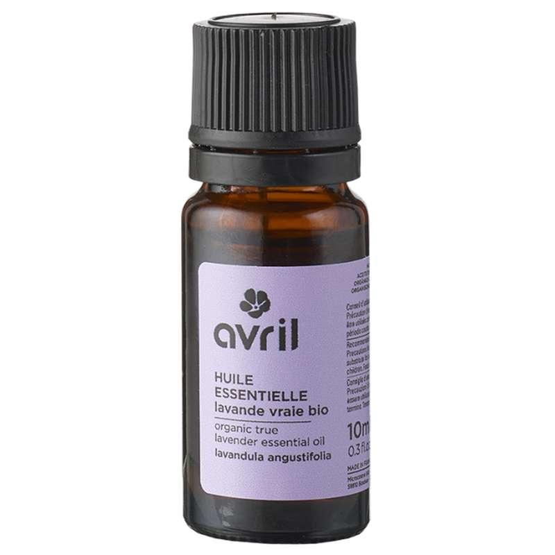 Huile essentielle de lavande vraie BIO, Avril (10 ml)