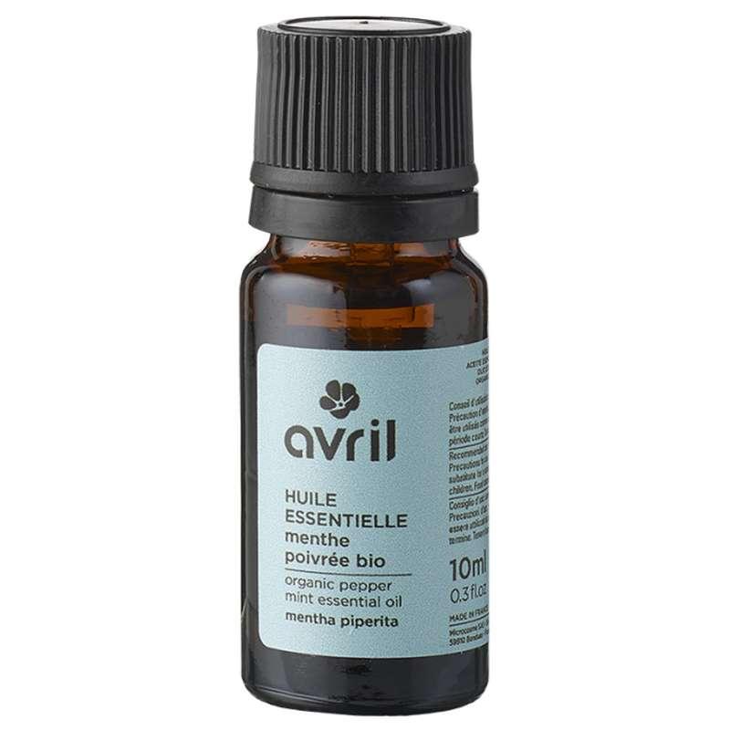 Huile essentielle de menthe poivrée BIO, Avril (10 ml)