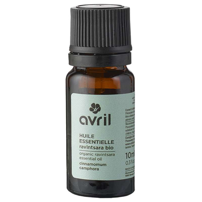 Huile essentielle de ravintsara BIO, Avril (10 ml)