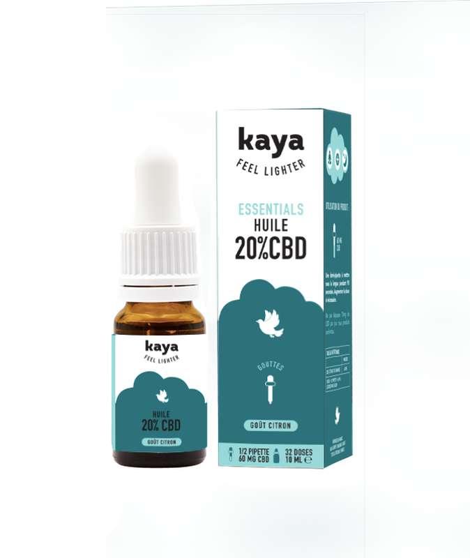 Huile Esssentials 20% CBD, Kaya (10ml)