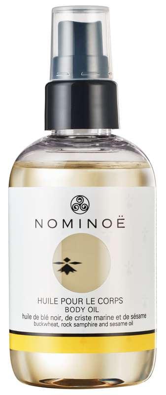 Huile hydratante pour le corps BIO, Nominoë (100 ml)