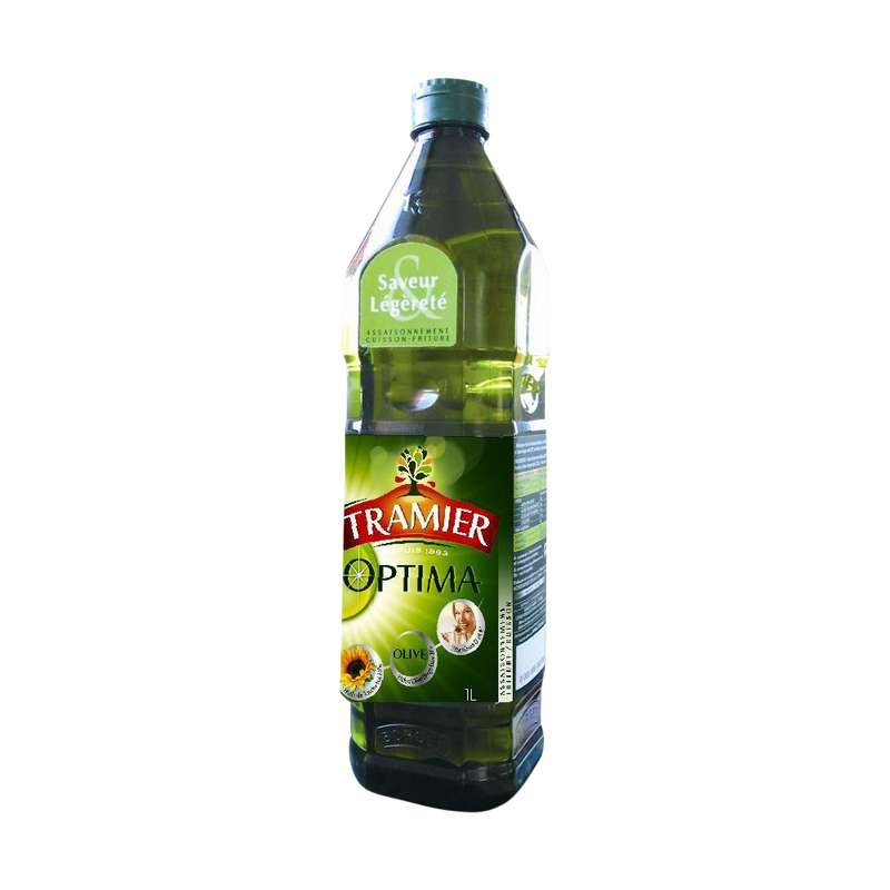 Huile olive + tournesol optima, Tramier (1 L)