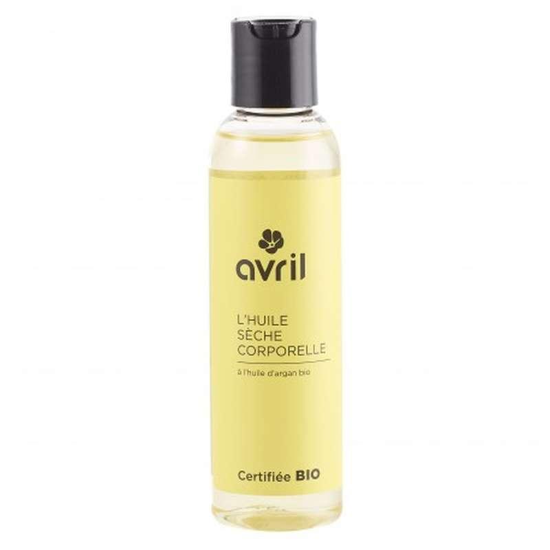 Huile sèche corporelle à l'huile d'argan certifiée BIO, Avril (150 ml)