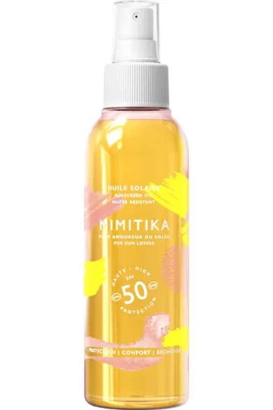Huile solaire SPF 50, Mimitika (150 ml)