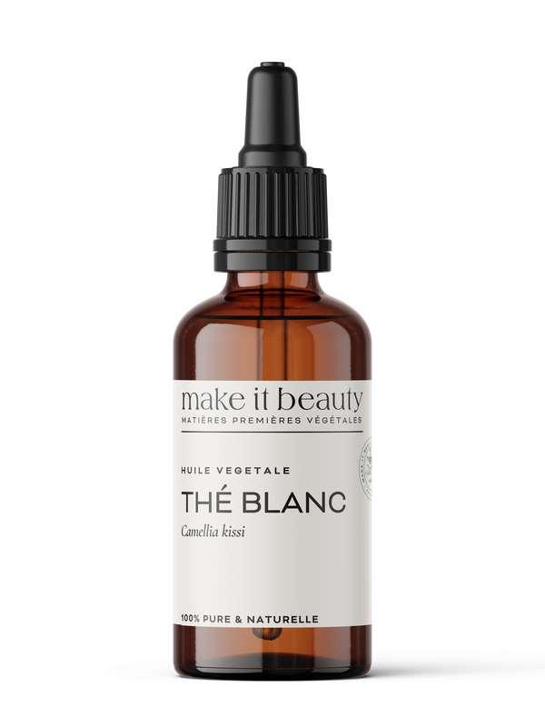 Huile végétale de Thé Blanc, Make It Beauty (50 ml)