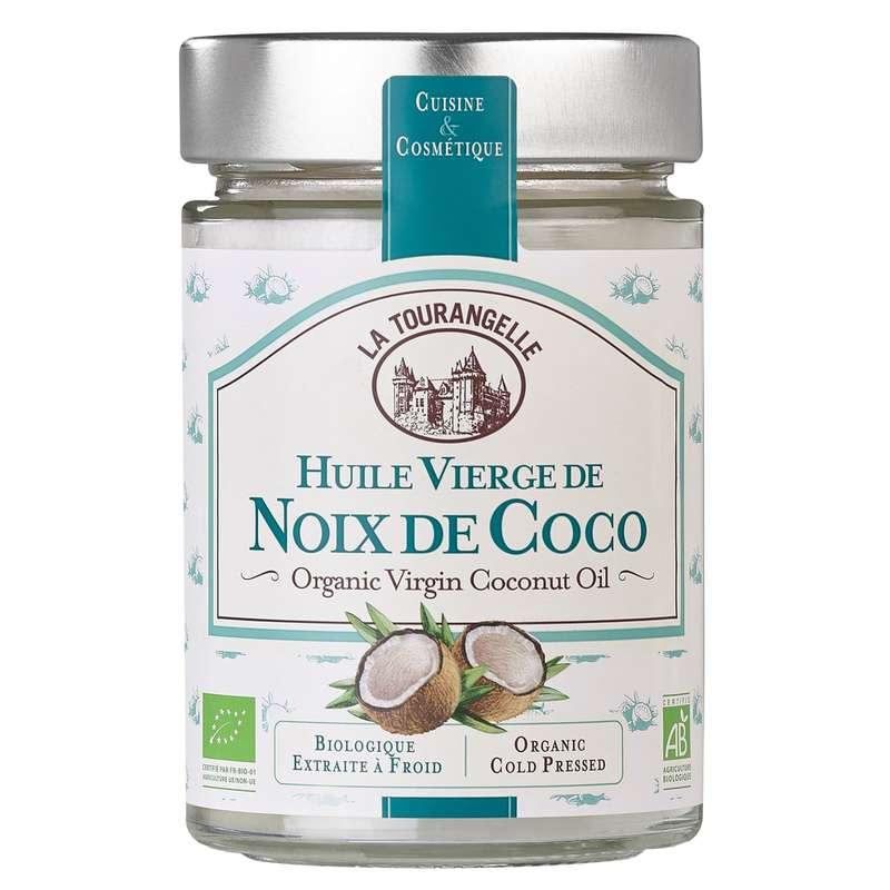 Huile vierge de noix de coco BIO, La Tourangelle (31 cl)