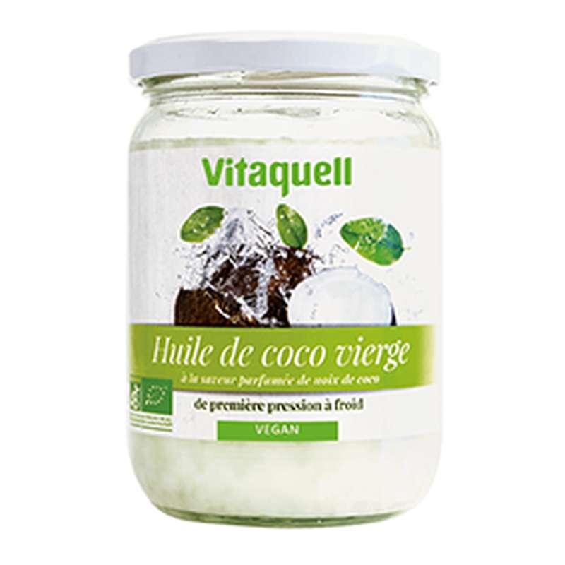 Huile de coco neutre, Vitaquell (430 ml / 400 g)